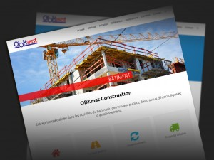 Nouvelle version du site OBKmat Construction